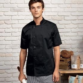 Jacket/Chef's Jacket Short Sleeve Chef's Jacket. Short sleeve. Unisex. Premier