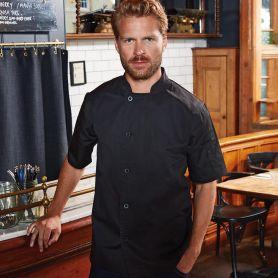 Giacca/Casacca da cuoco Essential' Short Sleeve Chef's Jacket. Manica corta. Unisex. Premier