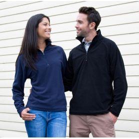 Demi-sweat-shirt zippé, Microfleece Top. 200 gr/m². Unisexe. Résultat, 20
