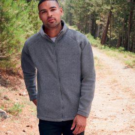 Fleece sweatshirt, full zip, Full Zip Fleece. 300 gr/sqm. Unisex. Fruit of The Loom