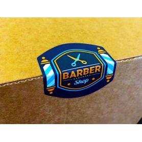 Etichette Chiudi busta / pacco Adesive in PVC Opaco su misura personalizzate con il tuo logo