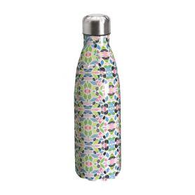 "Water bottle ""Bruin Bear"" 500ml, double wall in stainless steel, thermal. 03"