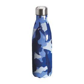 "Water bottle ""Bruin Bear"" 500ml, double wall in stainless steel, thermal. 05"