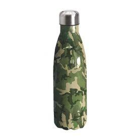 "Water bottle ""Bruin Bear"" 500ml, double wall in stainless steel, thermal. 06"