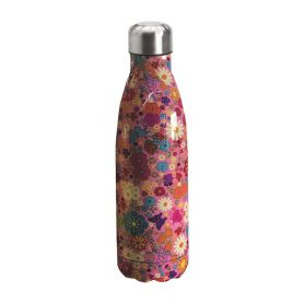 "Water bottle ""Bruin Bear"" 500ml, double wall in stainless steel, thermal. 12"
