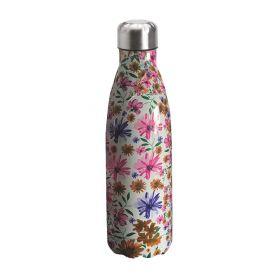 "Water bottle ""Bruin Bear"" 500ml, double wall in stainless steel, thermal. 13"