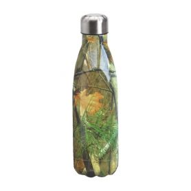 "Water bottle ""Bruin Bear"" 500ml, double wall in stainless steel, thermal. 16"