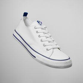 Scarpa classica casual Roly Biles Scarpa Sneaker Unisex - Bianco
