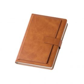 Agenda/Wallet 2022 Daily 17 x 24 cm. Eco-leather line