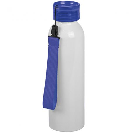 Subli Aluminium Bottle 650 ml with screw cap and matching strap
