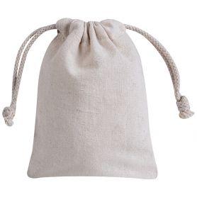 Cotton bag 10 x 14 cm. 100% Cotton. Mod. Is