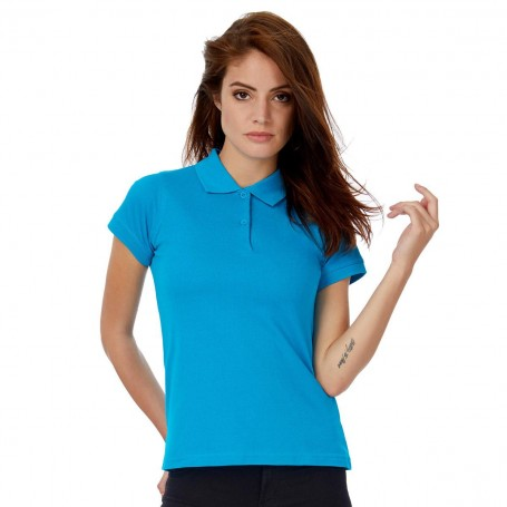 Polo Safran Pure Woman Short Sleeve B&C