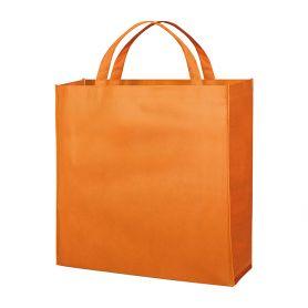 Stock 100 Shopper/Buste 45x45x14cm en TNT avec poignées courtes, personnalisées avec votre logo!