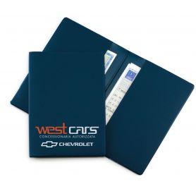 STOCK 200 Porta documenti 13 x 18 cm 2 ante in TAM personalizzati con il tuo logo