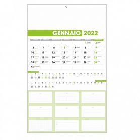 "Calendar 2022 ""Dutch Notes"" 28.8 x 47 cm from the wall."