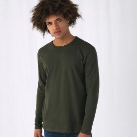 T-Shirt B&C E150 LSL. 100% Cotone, manica lunga. Unisex. B&C