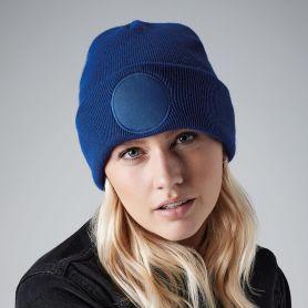 Winter cap 100% acrylic soft-touch, round decoration. Unisex. Beechfield
