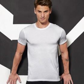 T-Shirt Sublimation/MenEffetto Cotone Manica Corta B&C