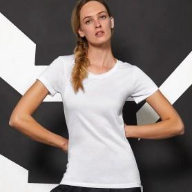 T-Shirt Sublimation/Women Effect Cotton Short Sleeve B&C