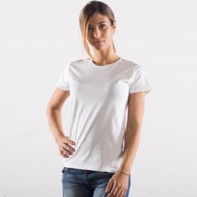 T-Shirt Sublimation Évolution Toucher Coton Femme Manches Courtes Noir Spider