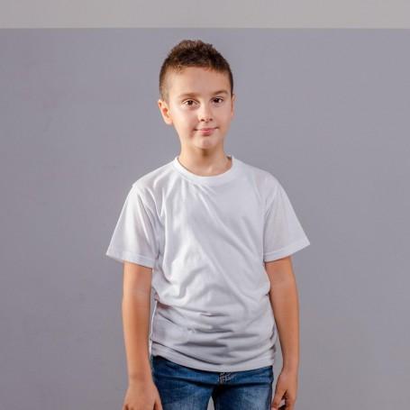 T-Shirt Subli Evolution Cotton Touch Kids Manica Corta Black Spider
