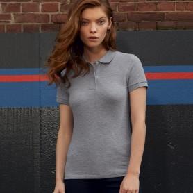 Polo Inspirer les Femmes du Coton Bio Manches Courtes B&C