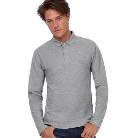Polo Long Sleeve Unisex 100% cotton B&C
