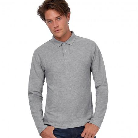 Polo Long Sleeve Unisex 100% cotton B&C