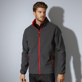 Softshell jacket 2 layer microfleece inside Unisex Jacket James & Nicholson