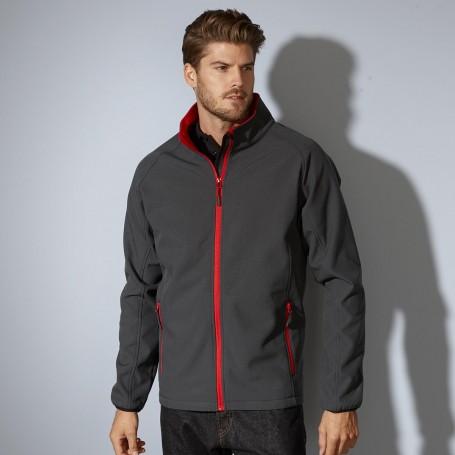 Softshell jacket 2 layer microfleece inside Unisex Jacket James & Nicholson