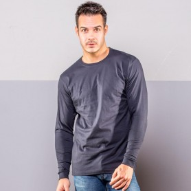 T-Shirt Evolution T-LS-Unisex Long Sleeve Black Spider