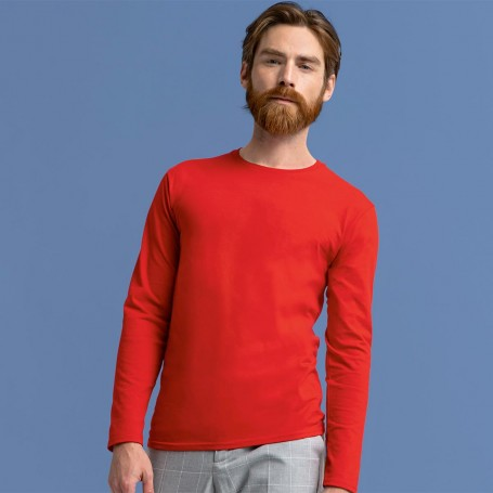 T-Shirt Iconic 150 Classic LS T-Unisex Long Sleeve Fruit Of The Loom