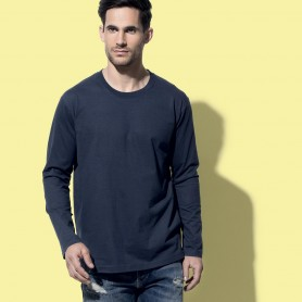 T-Shirt Comfort-T Long Sleeve Unisex Manica Lunga Stedman
