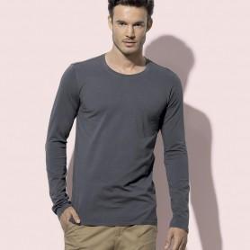 T-Shirt Clive Long Sleeve Unisex Manica Lunga Stedman
