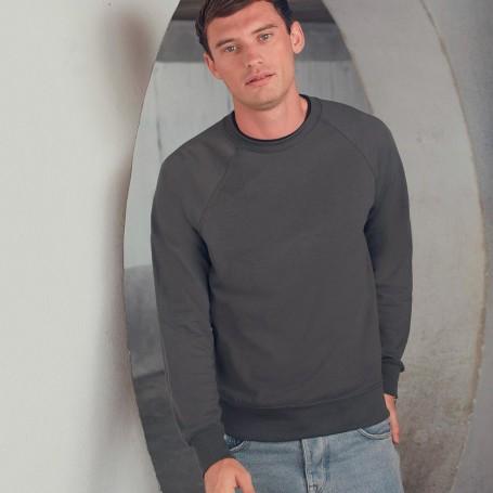 Sweatshirt Lightweight Raglan Sweat Unisex Fruit Of The Loom