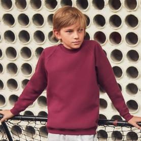 Sweat-Shirt Kids Classic Raglan Sweat Bébé, Fruit Of The Loom