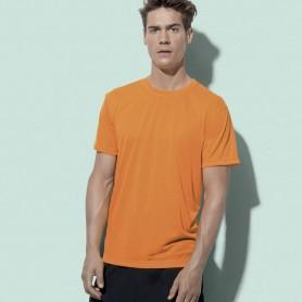 T-Shirt De Sport Actif Toucher Coton Unisexe Stedman