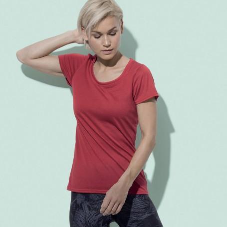 T-Shirt de Sport Actif Toucher Coton Femmes Stedman