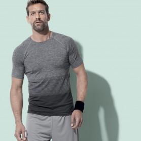 T-Shirt De Sport Actif Sans Couture Raglan Flux Unisexe Stedman