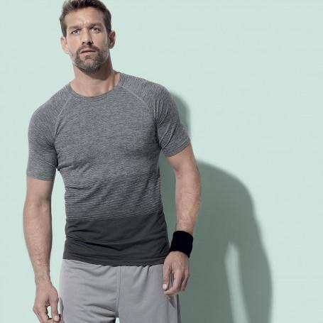 T-Shirt Sport Active Seamless Raglan Flow Unisex Stedman