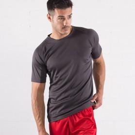 T-Shirt De Sport Run T 100% Polyester Micro-Perforé Unisexe Sprintex