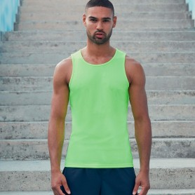 Vest Performance Vest Breathable Unisex Fruit Of The Loom