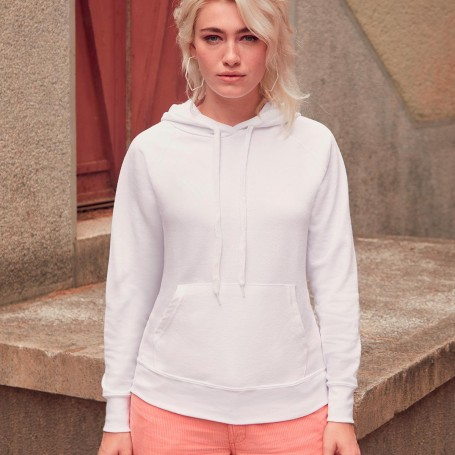 Sweat-shirt avec poche hooded Lightweight Hooded Sweat Femmes Fruit Of The Loom