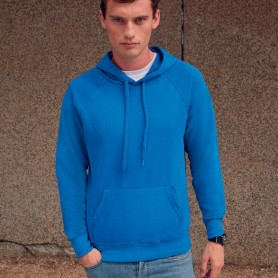 Sweat-shirt avec poche hooded Lightweight Hooded Sweat Unisexe Fruit Of The Loom
