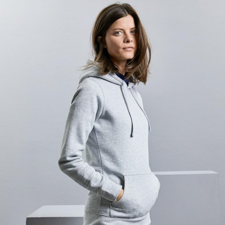 Sweatshirt with pocket hooded Authentic Hooded Sweat Women's Russell