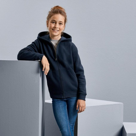 Sweatshirt with pocket hooded Authentic Hooded Sweat with zip Baby Russell