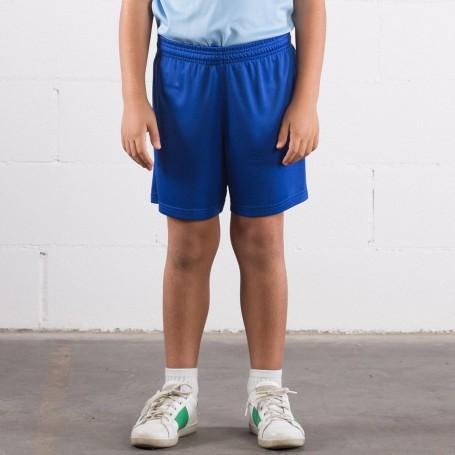 Pantaloncino Sport Short Bambino 100% Poliestere Sprintex