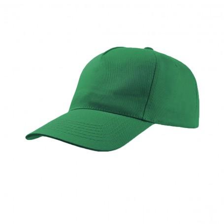 Cappello Promo Cap 5 Pannelli 100% Cotone Bambino Black Spider