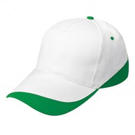 Cappello Promo Cap 5 Pannelli 100% Cotone Stripe Unisex Ale