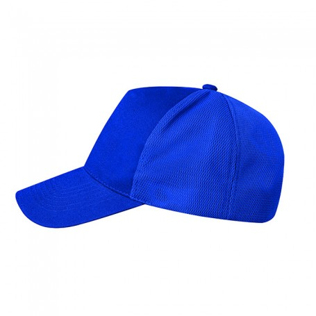 Hat Promo Cap 5 panel Cotton with Polyester Mesh Unisex Ale
